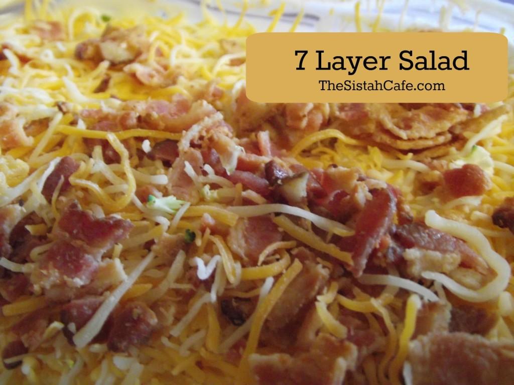 7 Layer salad 2