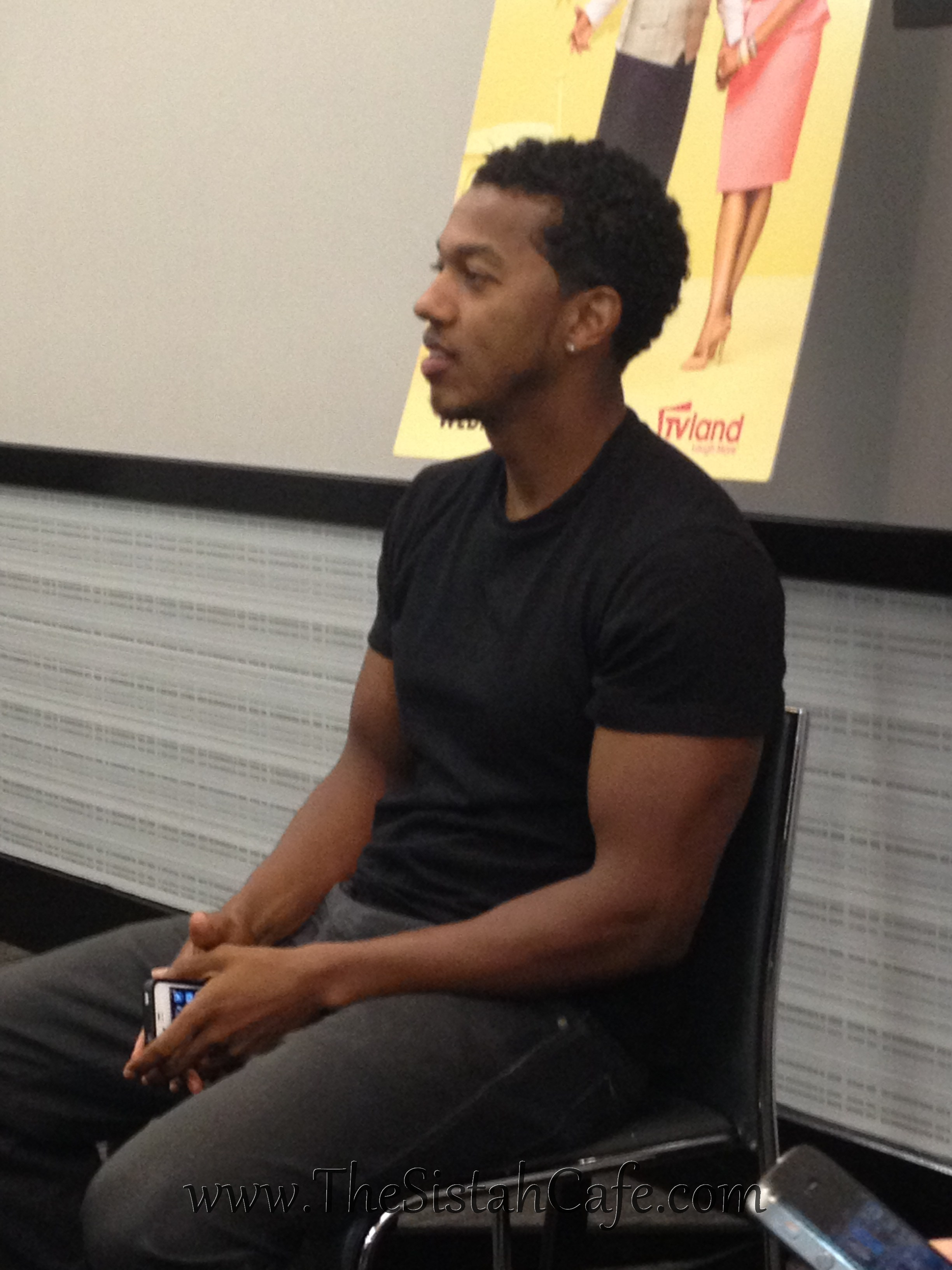 Up Close and Personal with Actor Wesley Jonathan - The ...  Up Close and Pe...