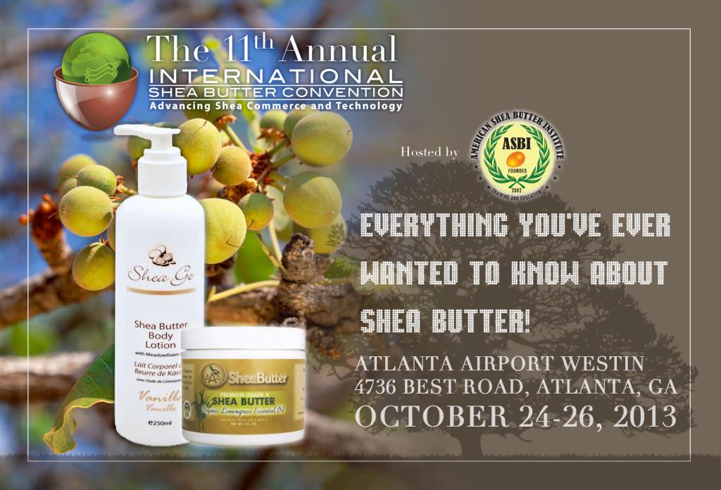 Shea Butter Flyer Front