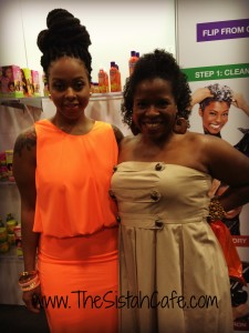 With Chrisette Michele