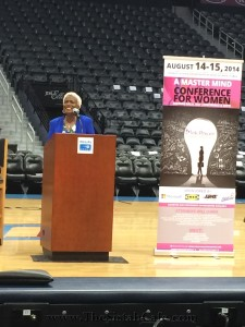 Monica Pearson - Pink Power Speaker