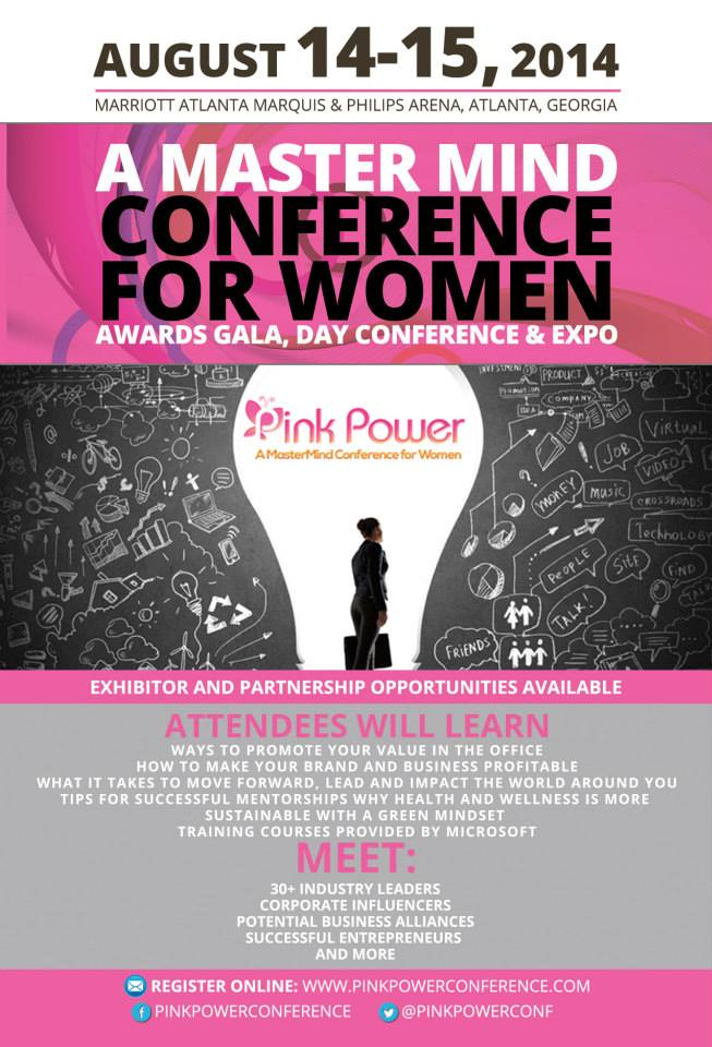 recap   pink power  a mastermind conference for women