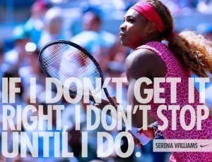 Sarena Williams for Nike
