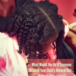 Natural Hair Little Girl