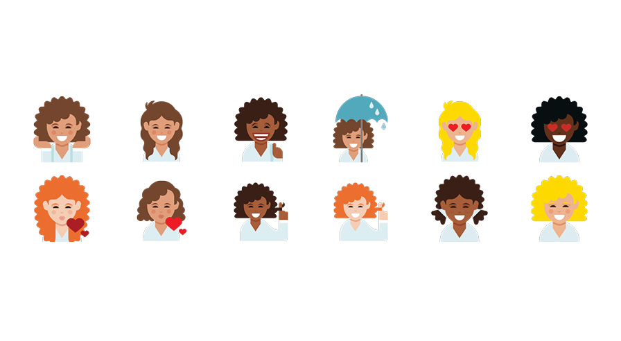 dove-curly-hair-emojis