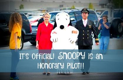 Pilot-snoopy