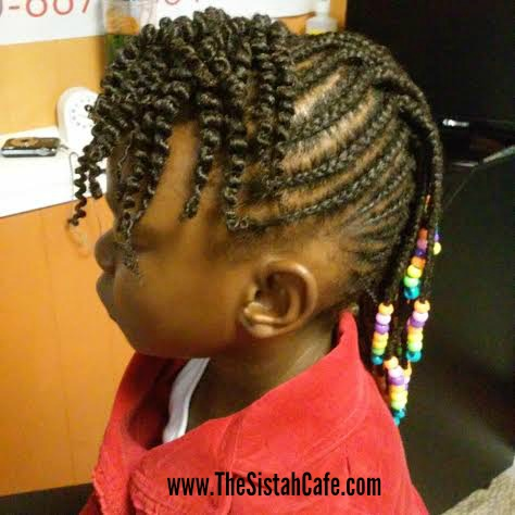 4 Awesome Holiday Natural Hair Styles For Children The Sistah Cafe