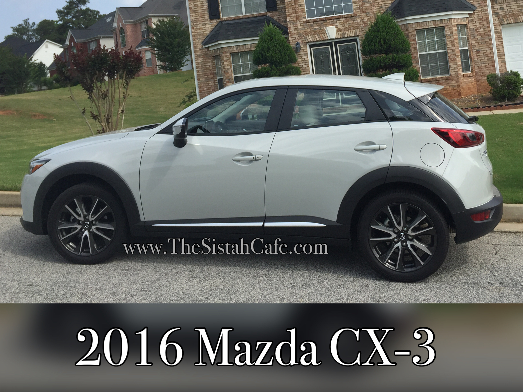 Cruising Around Town In The 2016 Mazda Cx 3 Grand Touring The