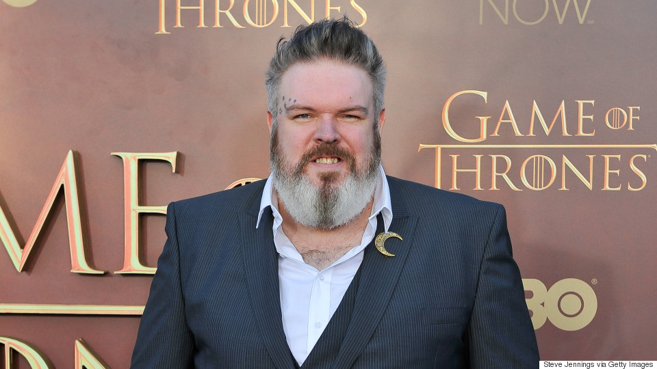 "SAN FRANCISCO, CA - MARCH 23: Kristian Nairn attends HBO's ""Game Of Thrones"" Season 5 San Francisco Premiere at San Francisco Opera House on March 23, 2015 in San Francisco, California. (Photo by Steve Jennings/WireImage)"