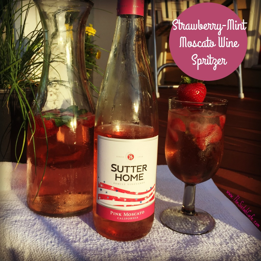 strawberry-mint-moscato-wine-spritzer