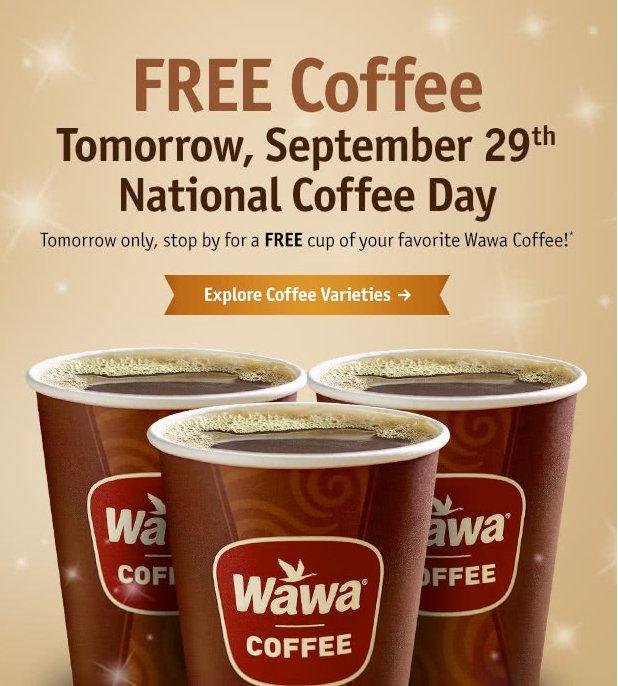 free-coffee-wawa