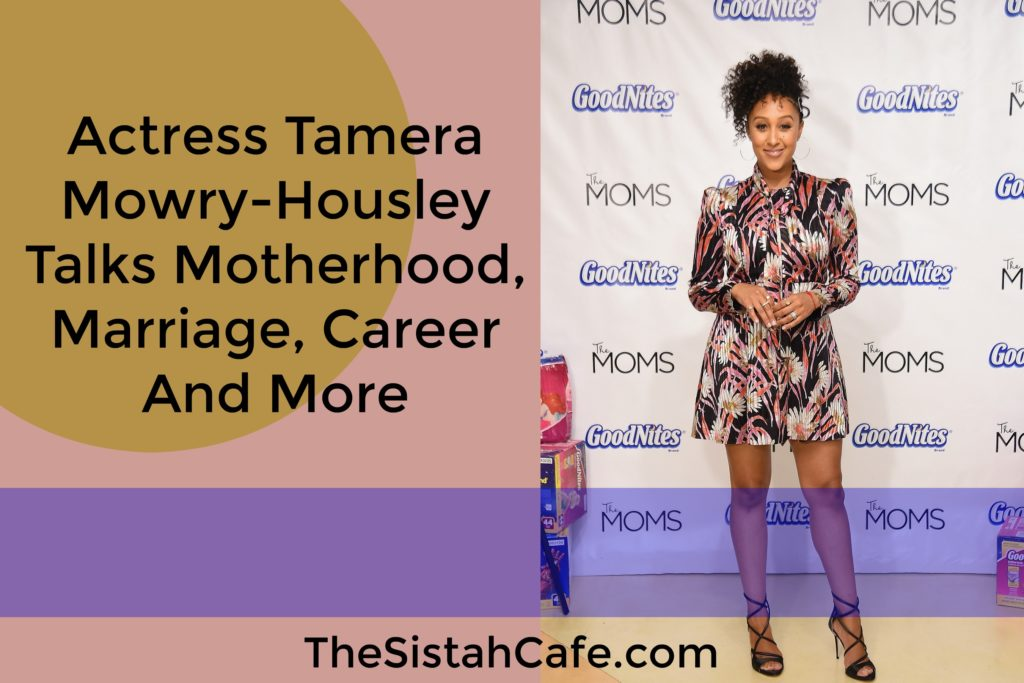 tamera mowry talks motherhood marriage career and more. Black Bedroom Furniture Sets. Home Design Ideas