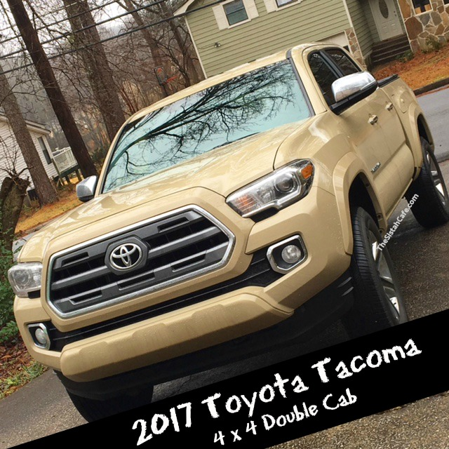Toyota Tacoma Limited: Making Money Moves In The 2017 Toyota Tacoma